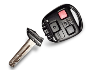 broken car key repair
