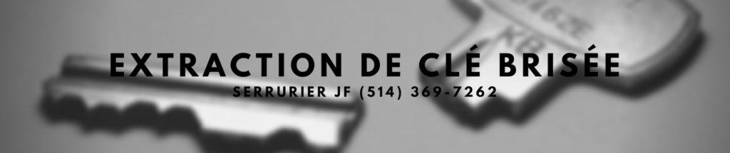 Extraction de Clé Brisée